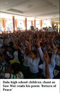 Écoliers de Dala-chantent