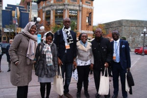 Faith Oneya (Kenya), WeziMsukwa (Malawi), Mohammed Sheriff (Sierra Leone) et Ghana